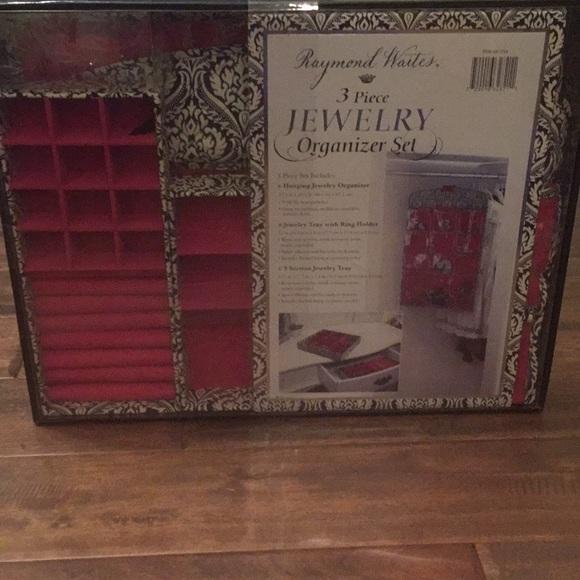 Raymond Waites Other 3 Piece Jewelry Organizer Set Poshmark